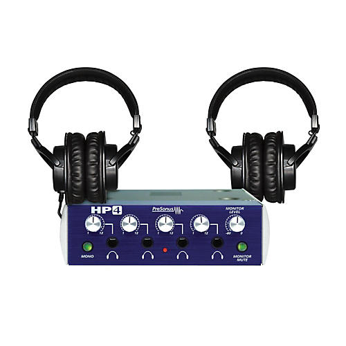 presonus hp4 th 200x headphone package guitar center. Black Bedroom Furniture Sets. Home Design Ideas