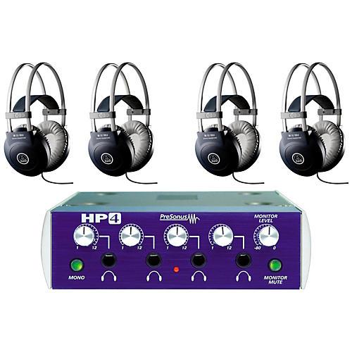 Presonus HP4 and M80 MKII Headphone Package (4-pack)