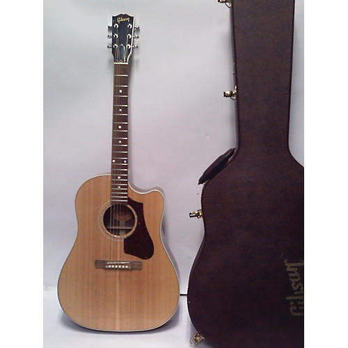 used gibson hp415w acoustic electric guitar natural guitar center. Black Bedroom Furniture Sets. Home Design Ideas
