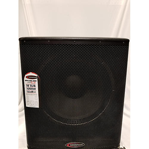 Harbinger HPX118S-BBE Powered Subwoofer