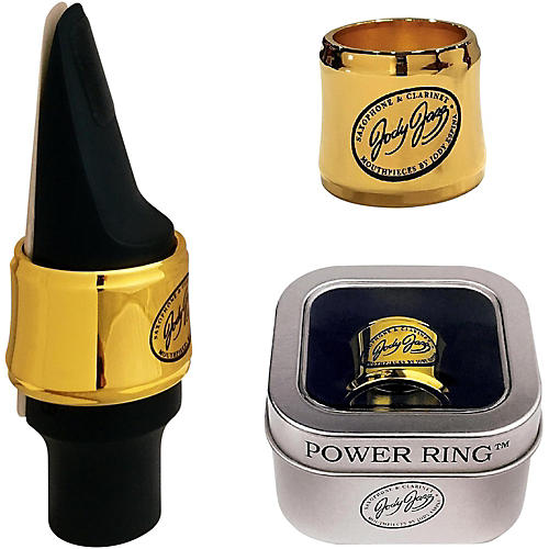 JodyJazz HRA1 Gold Power Ring Ligature for Select Alto Mouthpieces