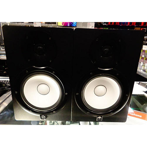 Used yamaha hs8 pair powered monitor guitar center for Yamaha hs8 price