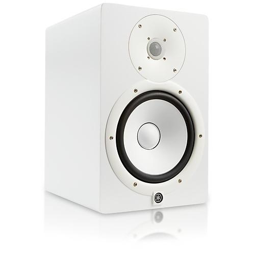 Yamaha Hs W  Inch Powered Studio Monitor White