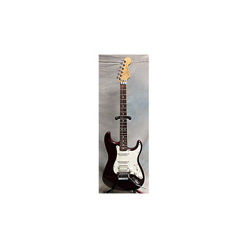 Fender HSS Standard Stratocaster With Locking Tremolo Solid Body Electric Guitar