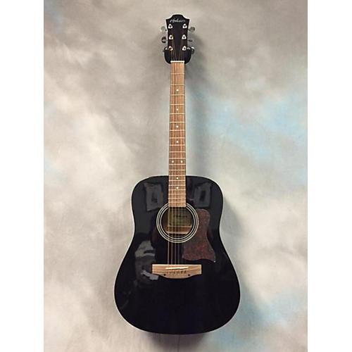 Hohner HW 300G-TBK Black Acoustic Guitar