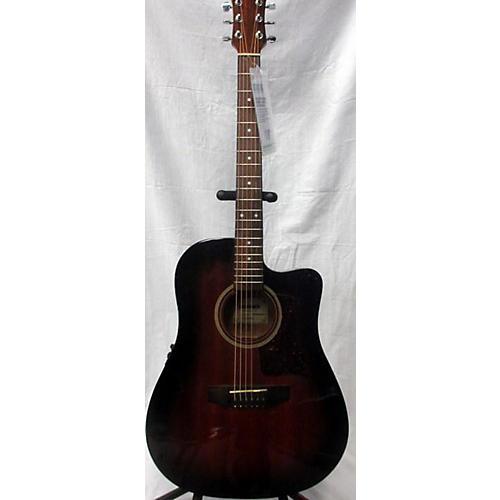 used hohner hw300ce acoustic electric guitar guitar center. Black Bedroom Furniture Sets. Home Design Ideas