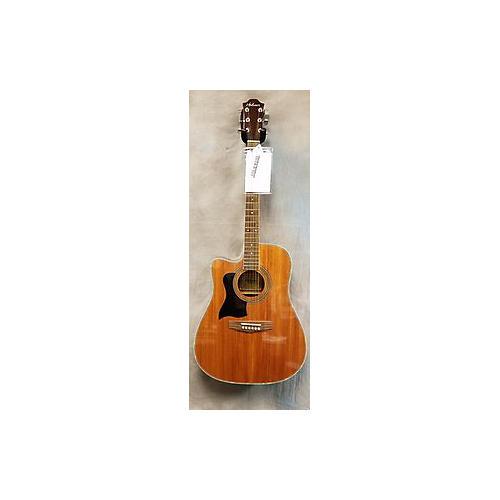 used hohner hw440lg acoustic electric guitar guitar center. Black Bedroom Furniture Sets. Home Design Ideas