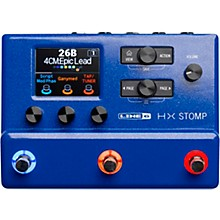 HX Stomp Limited-Edition Multi-Effects Pedal Lightning Blue