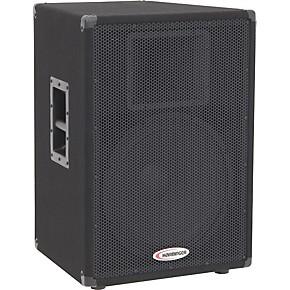 harbinger hx151 15 2 way speaker cabinet guitar center. Black Bedroom Furniture Sets. Home Design Ideas