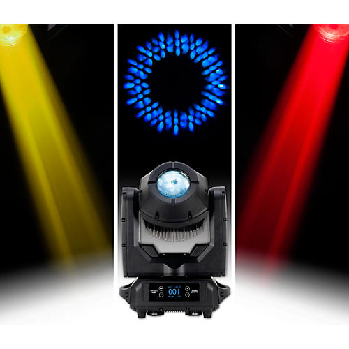 American DJ HYDRO BEAM X1 IP 65 Rated 100 Watt Discharge Moving Head With a 3 Degree Beam and 16 facet prism Wireless DMX Built In