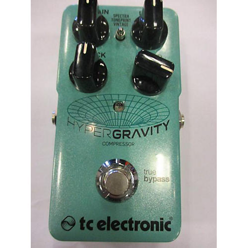 TC Electronic HYPERGRAVITY COMPRESSOR Effect Pedal