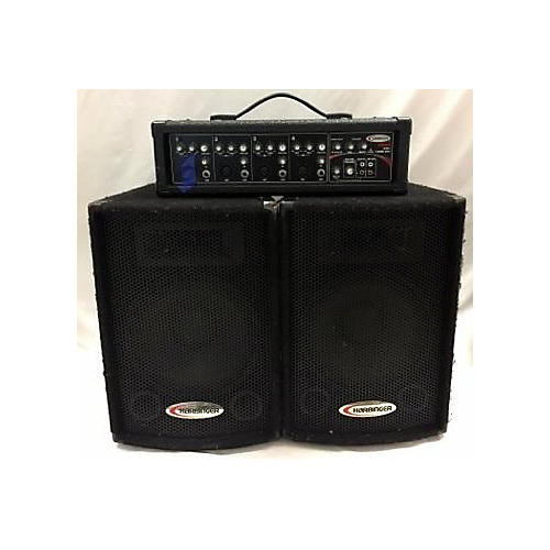Harbinger Ha60 PA 3CH XLR Sound Package