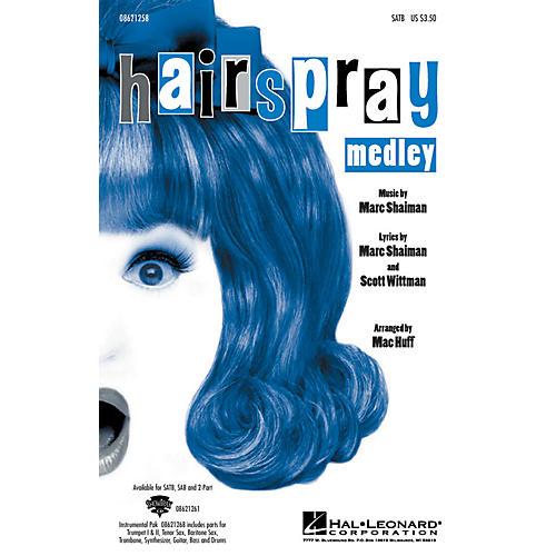 Hal Leonard Hairspray Medley ShowTrax CD Arranged by Mac Huff