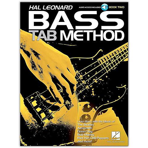 Hal Leonard Hal Leonard Bass Tab Method Book 2- Book/Online Audio
