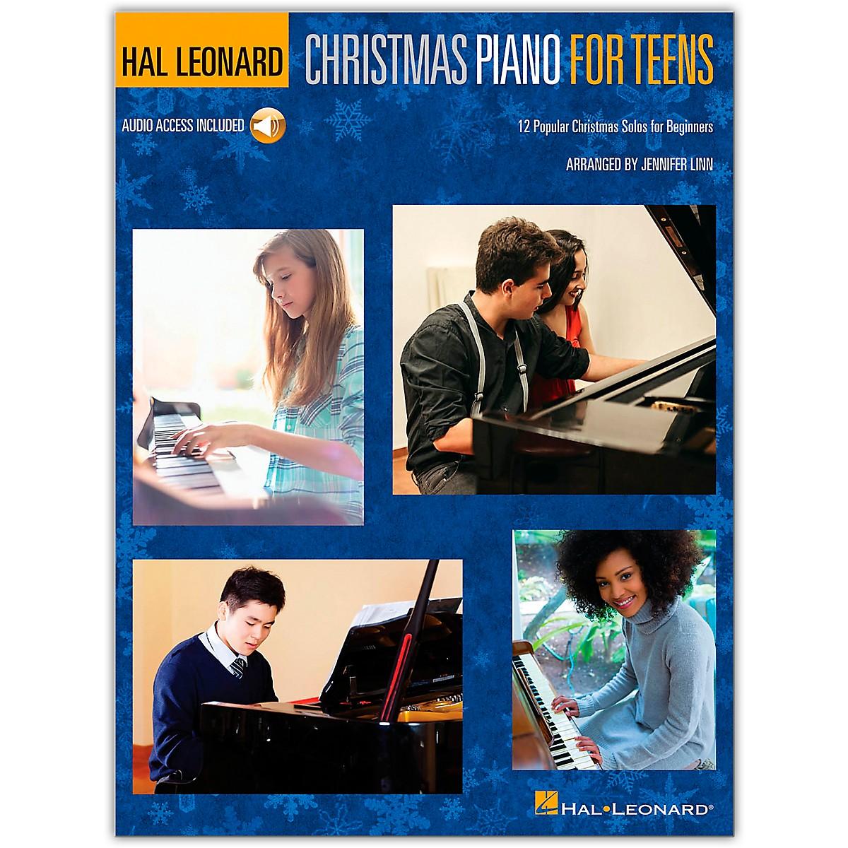 Hal Leonard Hal Leonard Christmas Piano for Teens Piano Method Book/Audio Online