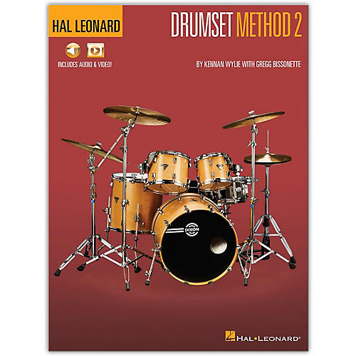 Hal Leonard Hal Leonard Drumset Method - Book 2   Book/Media Online