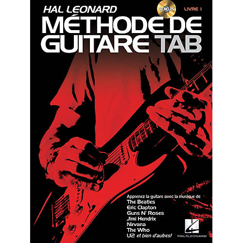 Hal Leonard Hal Leonard Méthode de Guitare Tab Guitar Tab Method Series Softcover with CD Written by Jeff Schroedl