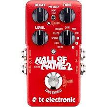 TC Electronic Hall of Fame 2 Reverb Effects Pedal Level 1