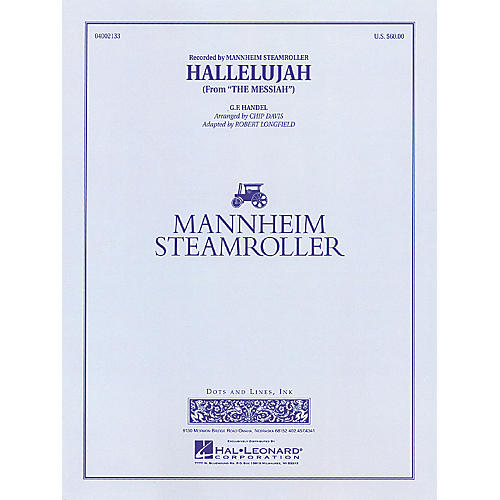 Hal Leonard Hallelujah Concert Band Level 3-4 by Mannheim Steamroller Arranged by Chip Davis