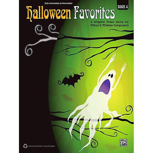 Alfred Halloween Favorites, Book 4 Early Intermediate / Intermediate