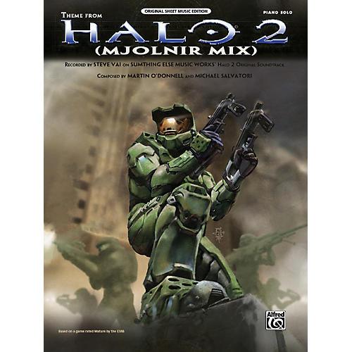 Alfred Halo 2 Theme (Mjolnir Mix)  Piano Solo