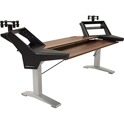 Argosy Halo K88 Plus Desk with Mahogany Surface