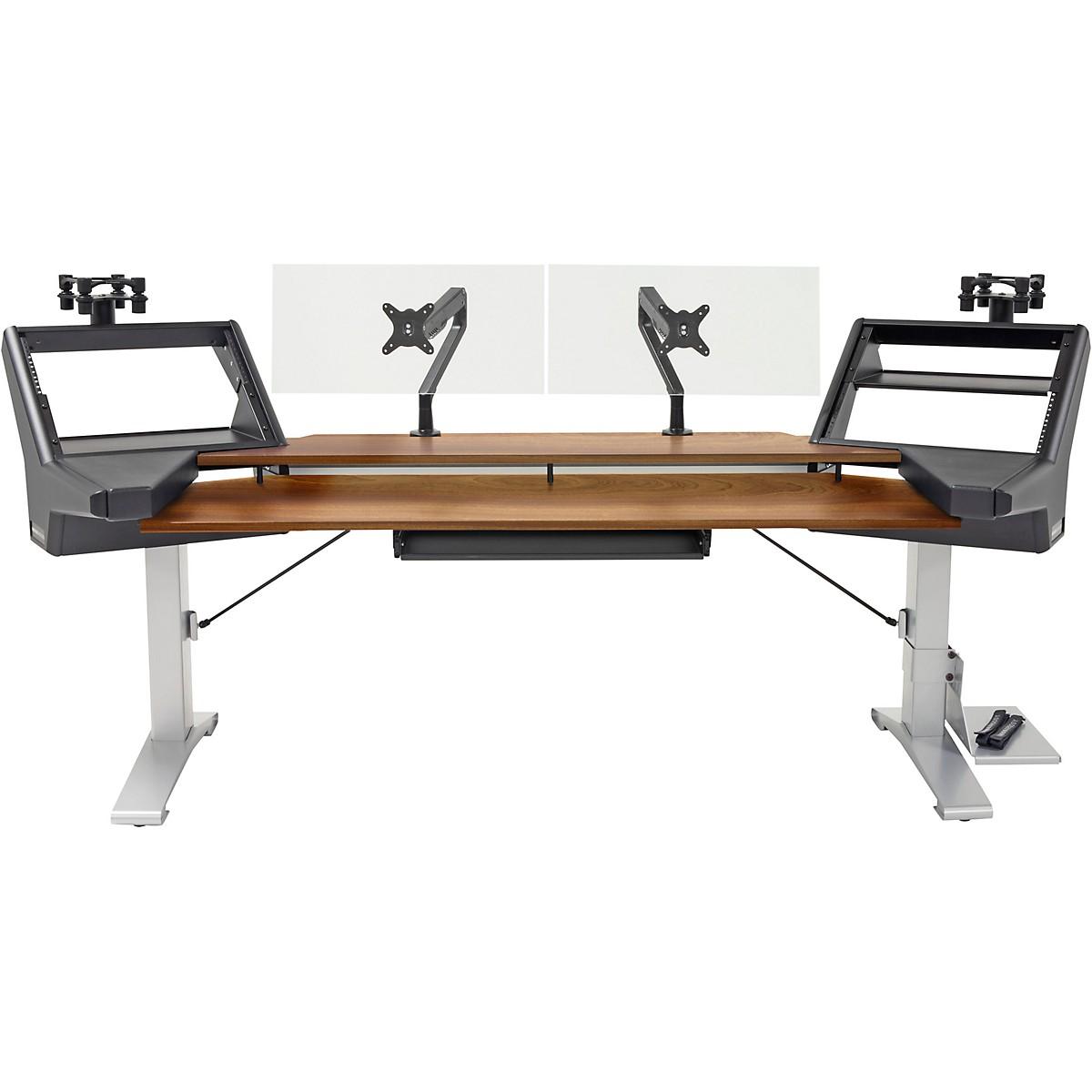 Argosy Halo K88 XC Ultimate Desk with Mahogany Surface