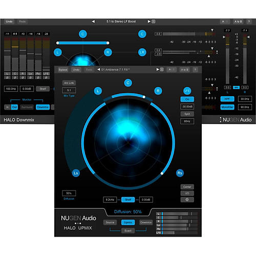 NuGen Audio Halo Upmix & Halo Downmix