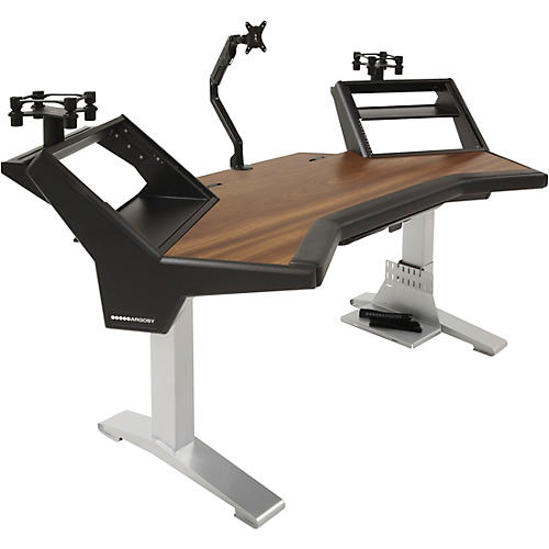 Argosy Halo XC Ultimate Desk with Mahogany Surface