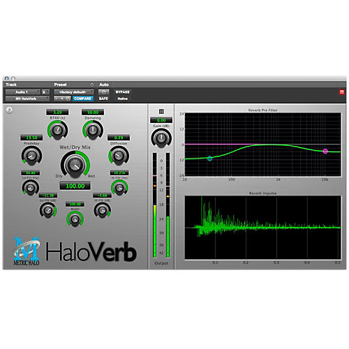 METRIC HALO HaloVerb for Pro Tools AAX
