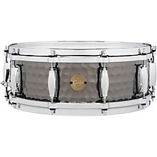Hammered Black Steel Snare 14 x 5 in.