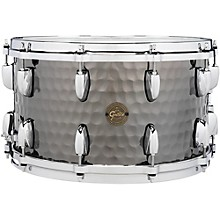 Hammered Black Steel Snare 14 x 8 in.