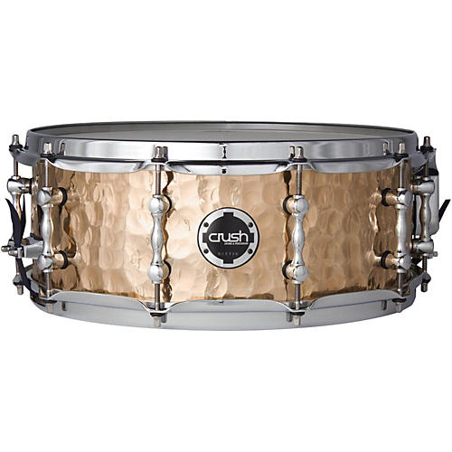 Crush Drums & Percussion Hand Hammered Phosphor Bronze Snare Drum