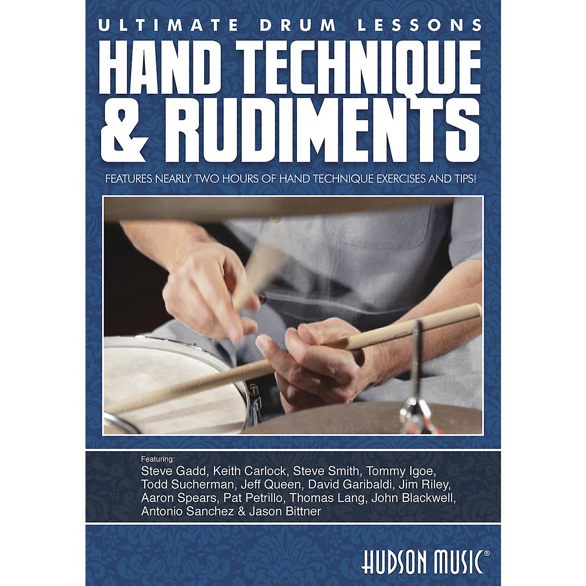 Hudson Music Hand Technique & Rudiments- Ultimate Drum Lessons Series DVD