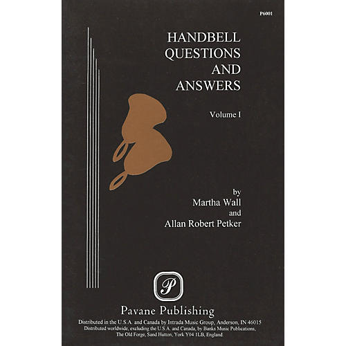Pavane Handbell Questions & Answers, Vol. I Book