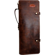 Handmade Leather Stick Case Brown