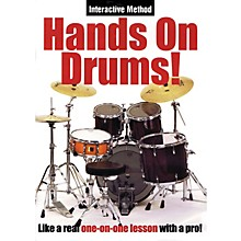 Music Sales Hands On Drums! (Interactive Method) Music Sales America Series DVD Written by James Sloan