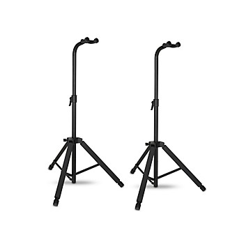 2-Pack Musician's Gear Hanging Guitar Stand (Black)