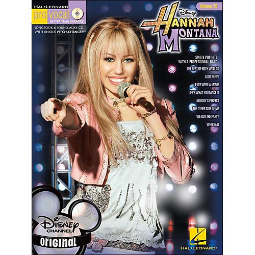 Hal Leonard Hannah Montana Pro Vocal Series Volume 20 Book/CD