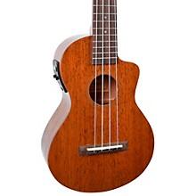 Mahalo Hano Elite Series MH2CE Acoustic-Electric Concert Ukulele Level 2 Vintage Natural 190839255679