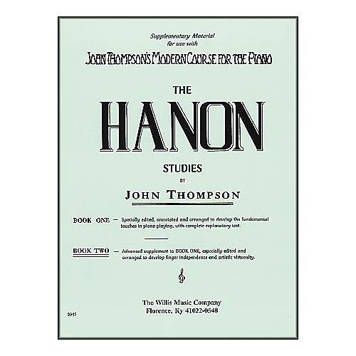 Willis Music Hanon Studies Book Two Mid-Intermediate Level Piano