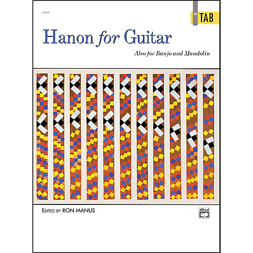 Alfred Hanon for Guitar In TAB