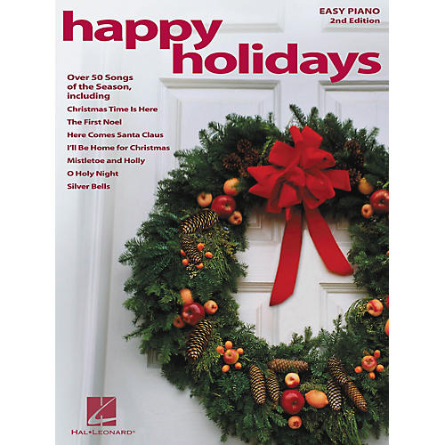 Hal Leonard Happy Holidays 2nd Edition For Easy Piano