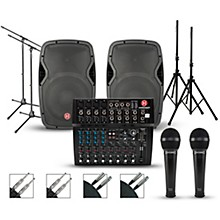 Harbinger L1202 Mixer with Harbinger Vari PA Package 12