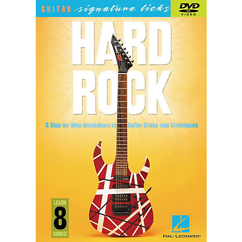 Hal Leonard Hard Rock - A Step By Step Breakdown of Guitar Styles and Techniques (DVD)