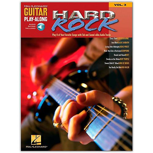 Hal Leonard Hard Rock Guitar Play-Along Series Volume 3 (Book /Online Audio)