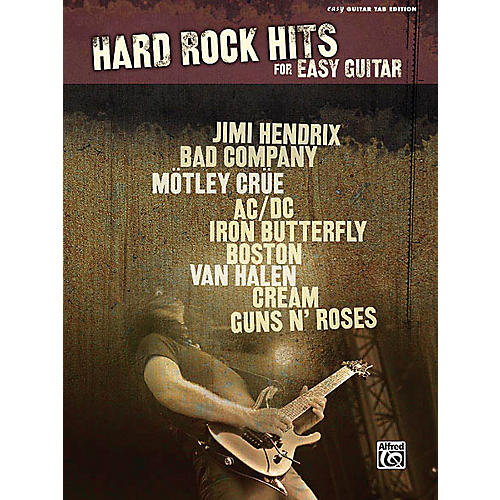 Hal Leonard Hard Rock Hits for Easy Guitar Easy Guitar Series Softcover Performed by Various