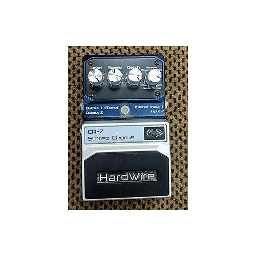 Digitech HardWire Series CR7 Stereo Chorus Effect Pedal