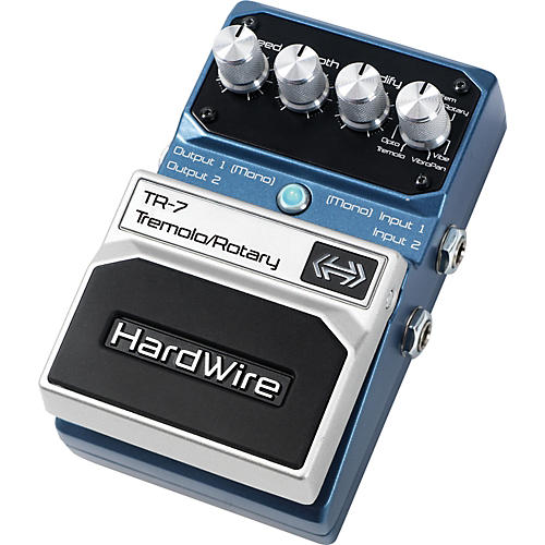 Digitech Hardwire Series TR-7 Stereo Tremolo and Rotary Guitar Effects Pedal