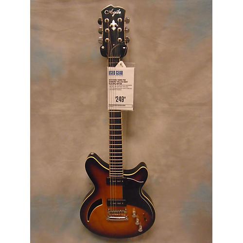 Agile Harm P90 Hollow Body Electric Guitar